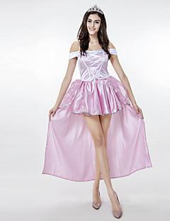 Cosplay Kostýmy Kostým na Večírek Princeznovské Bohyně Festival/Svátek Halloweenské kostýmy Růžová Patchwork Šaty Doplňky do vlasů