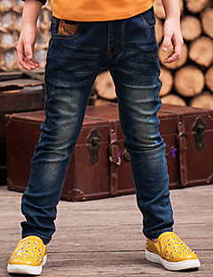 Boys' Casual/Daily Solid Jeans-Cotton Winter Spring Fall