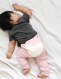 Baby Hose-Lässig/Alltäglich Einfarbig Druck Baumwolle Frühling Herbst