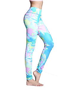 calças de yoga Meia-calça Leggings Calças Respirável Secagem Rápida Natural Elasticidade Alta Moda Esportiva MulheresIoga Pilates