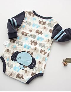 Baby Einzelteil Tiermuster Druck Baumwolle Sommer