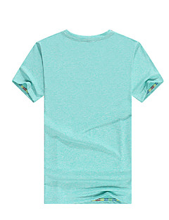 Unisex Tops Fishing Breathable Spring Summer Light Pink Orange Sapphire Blue-SPAKCT®