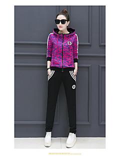 sports fritid passer ms. Våren 2017 nye stilige sport dress utskrift hettejakke to