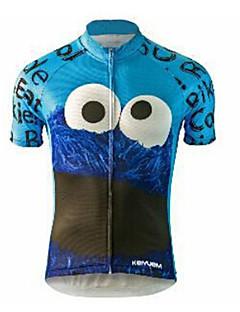 לנשים לגברים יוניסקס שרוול קצר אופנייםעמיד למים נושם ייבוש מהיר עיצוב אנטומי מוגן מגשם רוכסן עמיד למים לביש חומרים קלים 3D לוח ללא תפרים