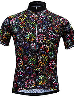 JESOCYCLING® Biciklistička majica Žene Kratki rukav BiciklProzračnost Quick dry Ultraviolet Resistant Lagani materijali Povratak džep
