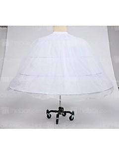Déshabillés Robe de soirée longue Mollet 1 Filet de tulle Taffetas Polyester Blanc Noir Rouge