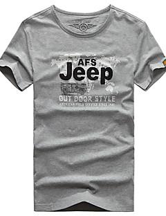 Men's T-shirt Breathable Quick Dry Summer White Gray Black