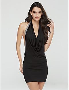Naisten Sexy Package Pakarat Dress