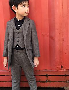 Chlapecké Spandex Společenské Geometrie Léto Zima Soupravy Sady oblečení