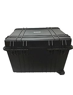 210 L Vízálló Porbiztos Ütésálló Viselhető Többfunkciós Keményhéjas Fekete
