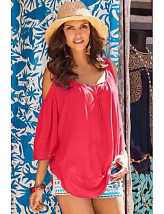 Ebay aliexpress Außenhandel in Europa und Amerika 2016 neue Sommer lose kurz-sleeved T-Shirt Hemd Leckage Schulter ms.