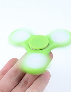 Dikkat Çarkları El iplik makinesi Oyuncaklar Tri-Spinner ABS EDCLED Işık ADD, DEHB, Anksiyete, Otizm Giderilir Öldürme Süresi için Odak