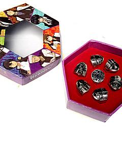 תכשיטים קיבל השראה מ Reborn! Tsunayoshi Sawada אנימה אביזרי קוספליי טבעת כסף סגסוגת זכר