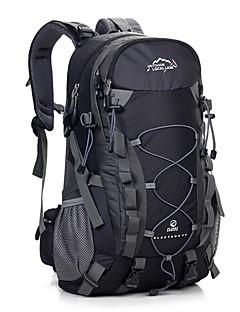 40 L Backpack Retkeily ja vaellus Matkailu Vedenkestävä Käytettävä Hengittävä