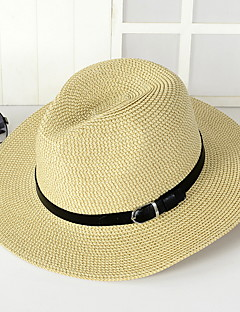 Sunscreen Men in Western Cowboy Hat Summer Folding Beach Outdoor Tourism Wide Brim Hawaii Folding Soft Sun Hat