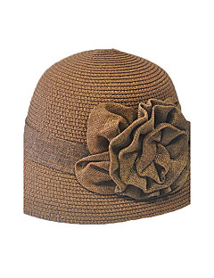 כובע קש כובע שמש טלאים קש חורף קיץ כל העונות וינטאג' חמוד מסיבה עבודה יום יומי יוניסקס