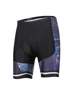 ILPALADINO מכנסי רכיבה לגברים יוניסקס אופניים מכנסיים קצריםנושם ייבוש מהיר עיצוב אנטומי עמיד אולטרה סגול מבודד חדירות ללחות לביש נגד חשמל