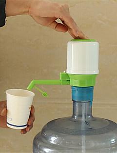 Nyt design 1 sæt drikker hånd tryk pumpe til flaskevand dispenser vandflaske min flaske med tag