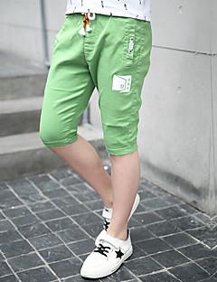 Drenge Bukser Afslappet/Hverdag Trykt mønster-Bomuld Polyester Sommer