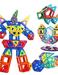 Rakennuspalikat Opetuslelut Magnetic Blocks Gift Rakennuspalikat Pelit ja palapelit Pyöreät Neliö Kolmia Polykarbonaatti2 - 4 vuotta 5 -