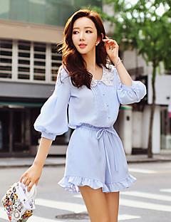 dabuwawa kvinders massive chinos / brede ben bukser, søde / gade chic / sofistikerede