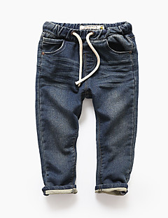 Boys' Casual/Daily Solid Pants-Cashmere Winter