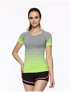 Dámské Trička Běhání Fitness, Běhání & Yoga Léto