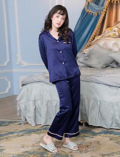 Damen Pyjama - Satin