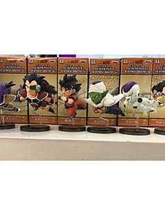 נתוני פעילות אנימה קיבל השראה מ Dragon Ball Goku PVC 8 CM צעצועי דגם בובת צעצוע
