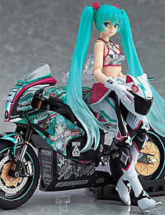 Anime Čísla akce Inspirovaný Vocaloid Mikuo PVC 15 CM Stavebnice Doll Toy