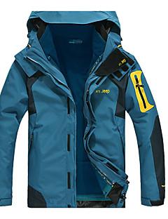 Miesten 3-in-1 -takit Pidä lämpimänä Käytettävä Hengittävä Tuulenkestävä vettä hylkivä Hikeä siirtävä Hameet ja puvut varten Retkeily ja