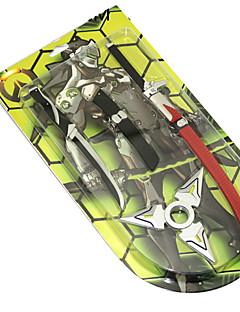 Enemmän lisävarusteita Fidget Spinner Innoittamana Overwatch Ao Anime Cosplay-Tarvikkeet Metallinen