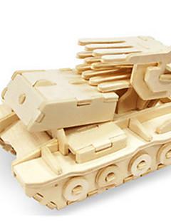 GDS-sett 3D-puslespill Puslespill Leketøy Dinosaur Tank Luftkraft Stridsvogn 3D GDS Uspesifisert Unisex Deler