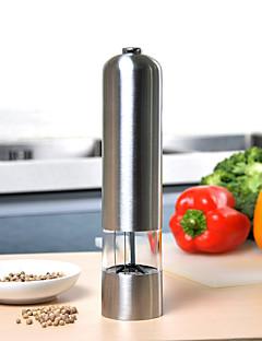 Paslanmaz çelik elektrikli değirmen değirmeni tuz biber değirmen mutfak aletleri