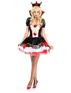 תחפושות קוספליי תחפושת למסיבה מלכה אגדה פסטיבל/חג תחפושות ליל כל הקדושים טלאים מעיל שמלה גב T לבוש ראש האלווין (ליל כל הקדושים) קרנבל נקבה