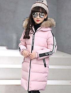 Genç Kız Pamuklu Kırk Yama Kış Uzun Kol Şişme ve Pamuk Pedli