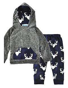 赤ちゃん 男の子用 綿 ファッション アニマルプリント アンサンブル,アニマルプリント 春/秋 冬