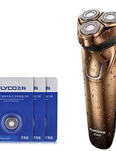 flyco fs337 rasoir électrique rasoir 100-240v tête de rechange rechargeable lavable