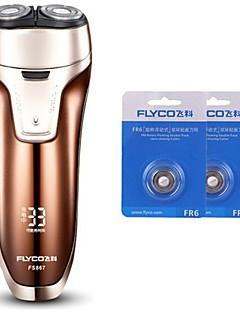 flyco fs867 rasoir rasoir électrique deux têtes de rechange 100240v lavable