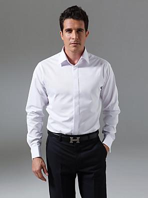 צווארון התפשטות קלאסי מותאם אישית לטוס חולצת טוקסידו קדמית