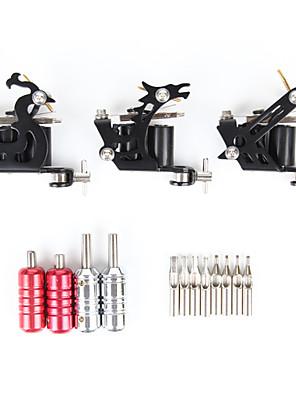 알루미늄 운반 케이스 (제한적 특별 할인 상품) 쉐이더 및 라이너 문신 키트