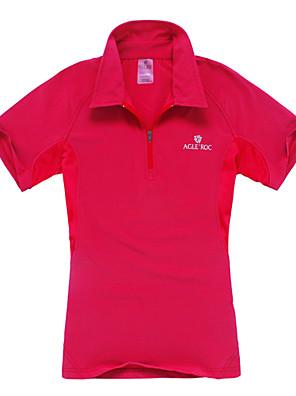 Mulheres Camiseta Polo / Camiseta Acampar e Caminhar / Alpinismo / Esportes Relaxantes Secagem Rápida / Permeável á HumidadePrimavera /