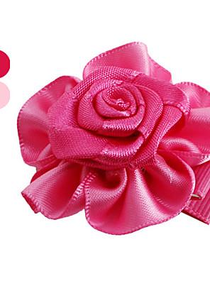 Cães Acessórios de Cabelo Rosa Roupas para Cães Primavera/Outono Casamento