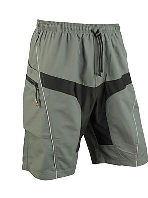SANTIC אופנייים/רכיבת אופניים מכנסיים קצרים / שורטים (מכנסיים קצרים) מרופדים / תחתיות לגברים נושם / ייבוש מהיר / לביש / 3D לוחספנדקס /