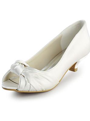 Sort / Rosa / Rød / Elfenbensfarvet / Hvid / Sølv / Guld / Champagne - Dame - Bryllup Sko - Bryllup - høje hæle - Hæle / Åben tå