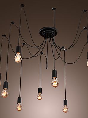 Max 60W Régies (Vintage) LED Festmény Csillárok Nappali szoba / Hálószoba / Étkező / Konyha / Dolgozószoba/Iroda