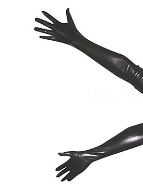 Rukavice Ninja Zentai Cosplay kostýmy Černá Jednobarevné Rukavice elastan Unisex Halloween / Vánoce