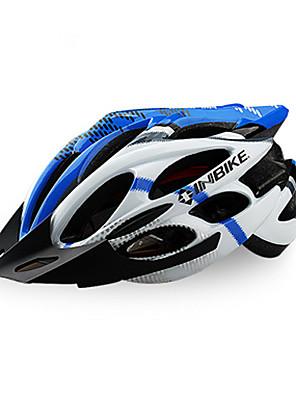 INBIKE Série Nova moda EPS material Capacete de Ciclismo Profissional com destacável Sunvisor 829