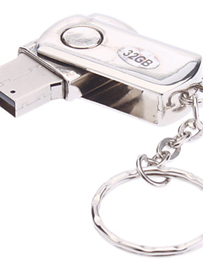 32gb rotere metal materiale mini usb flash pen-drev