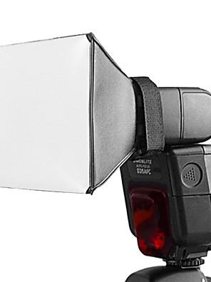 Universele flits Pixco flash diffuser, voor Canon 580EX/430EX II/Nikon SB-900/SB-800/SB-600